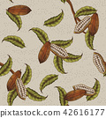 Cacao plant background 42616177