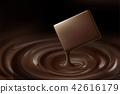 可可 巧克力 巧克力糖漿 42616179