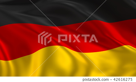 Waving Germany flag 42616275
