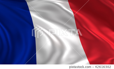 Waving France flag 42616302