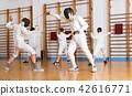 gym, stance, lunge 42616771