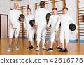 gym, stance, lunge 42616776