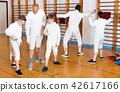 gym, stance, lunge 42617166