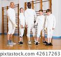 gym, stance, lunge 42617263