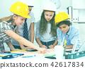 architect, girl, boy 42617834