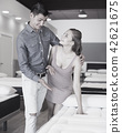 family choosing mattress 42621675
