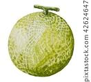 水果 哈密瓜 食物 42624647