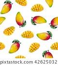 과일, 망고, 잎 42625032