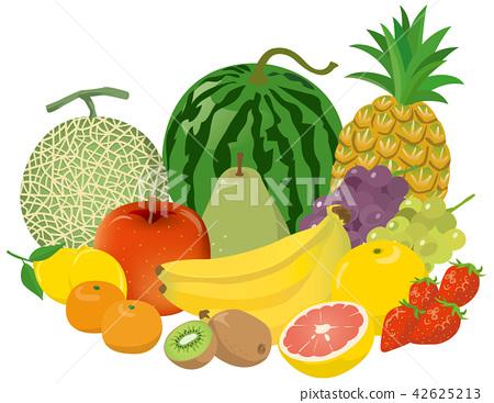 水果 插图 矢量 42625213