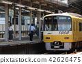 전차, 전철, 여성 42626475