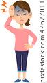 female, lady, woman 42627011