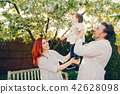 family, park, happy 42628098