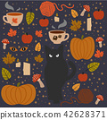 Halloween icon pack vector illustration 42628371