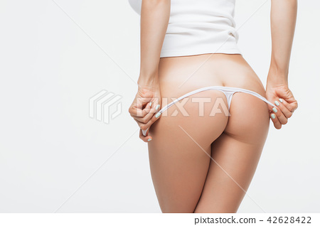 Woman Removes Panties Pic