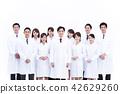 科學家科學博士科學團隊大型團體研究女性男性 42629260