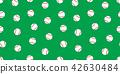 Baseball seamless pattern vector isolated softball 42630484