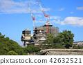복구 · 복원 공사중 인 쿠마모토 성, 2018 년 8 월 촬영 42632521