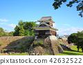 복구 · 복원 공사중인 구마모토 성내 이누이 망루, 2018 년 8 월 촬영 42632522