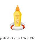 防曬油 向量 向量圖 42633392