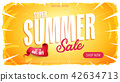 Summer Sale Template Banner 42634713