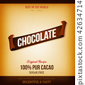 Chocolate Product Background 42634714