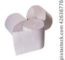 toilet paper close-up 42636776
