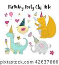 birthday, art, vector 42637866