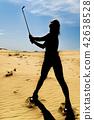 golf golfer woman 42638528