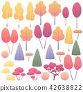 vector, tree, wood 42638822