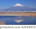 水管橋と逆さ富士-6029 42638932