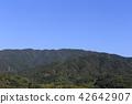 五郷井関에서 바라 보는 雲辺寺 42642907