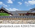 한국, 한옥, 서울 42643744