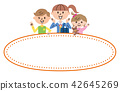 Children's kids frame illustration 42645269
