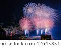 불꽃 놀이, 불꽃 놀이 대회, 여름 축제 42645851