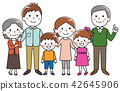 Three generations family smile 42645906
