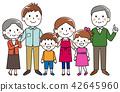 Three generations family smile 42645960