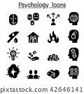 Psychology icon set 42646141