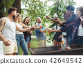 barbecue, summer, people 42649542