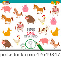 find one farm animal of a kind game 42649847
