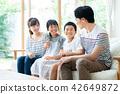 ครอบครัว,พูดคุย,นั่ง 42649872