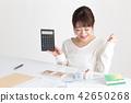 주택 여성 테이블 42650268