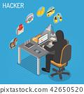 Hacker Isometric Concept 42650520