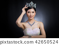 Miss Pageant Contest in Evening Ball Gown dress 42650524