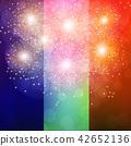 Colorful Fireworks Illustration. 42652136