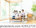 ครอบครัว,ห้องนั่งเล่น,วัยรุ่น 42652735