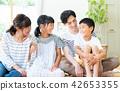 ครอบครัว,นั่ง,ความเป็นพ่อแม่ 42653355