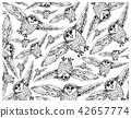 Hand Drawn Wallpaper Background of Autumn Owls 42657774