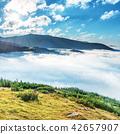 mountain, clouds, cloud 42657907