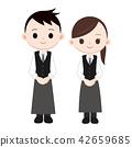 員工 男人和女人 男女 42659685