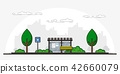 picture of bus stop  42660079